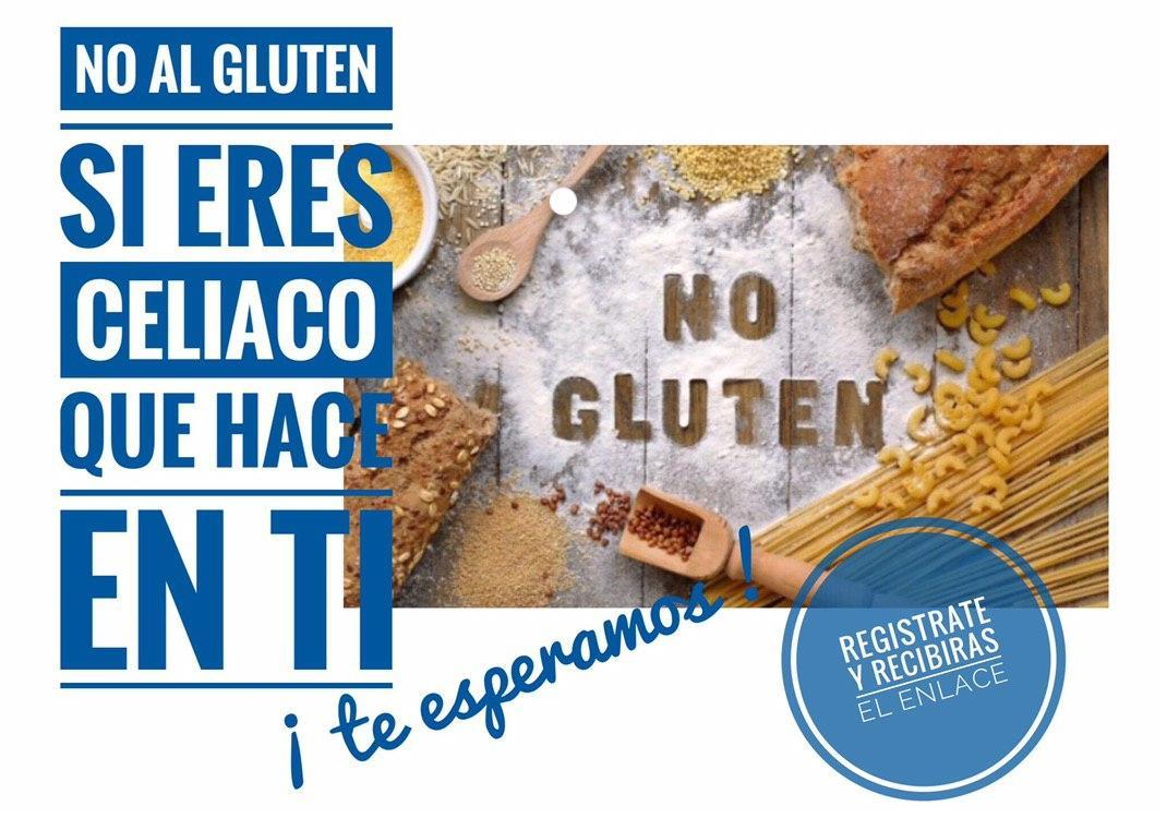 No al gluten